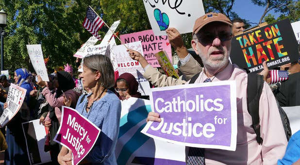 Image result for dreamers march 5, catholic church