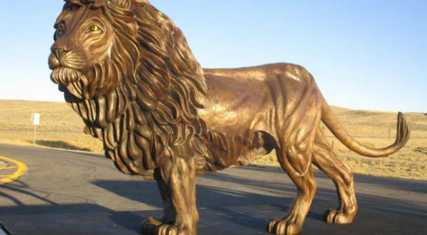 This Giant Lion Of Judah Sculpture Is On Its Way From Texas To Israel