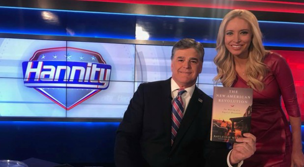 Sean Hannity with Kayleigh McEnany