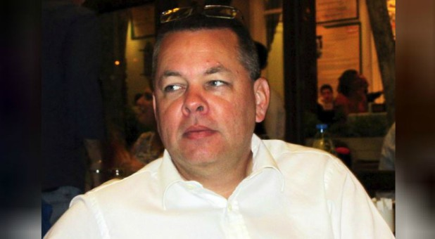 Andrew Brunson, a Christian pastor from North Carolina, U.S. who has been in jail in Turkey since December 2016, is seen in this undated picture taken in Izmir, Turkey.
