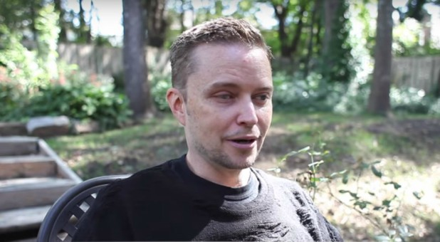 Satanic Temple co-founder Lucien Greaves