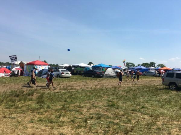 Bonnaroo tents
