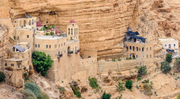 A monastery in Israel.