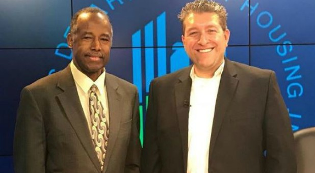 Ben Carson with Billy Hallowell