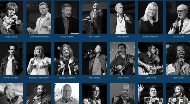 Some of the prophets attending the Global Prophetic Summit this year.