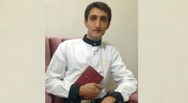 "Ebrahim Firouzi was 28 when he was charged with ""promoting Christian Zionism"" following his arrest in March 2013."