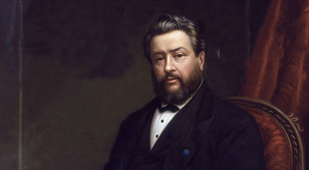 A painting of famed preacher Charles Spurgeon