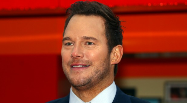 "Actor Chris Pratt poses during a photocall to promote the forthcoming film ""Lego Movie 2"" in London."