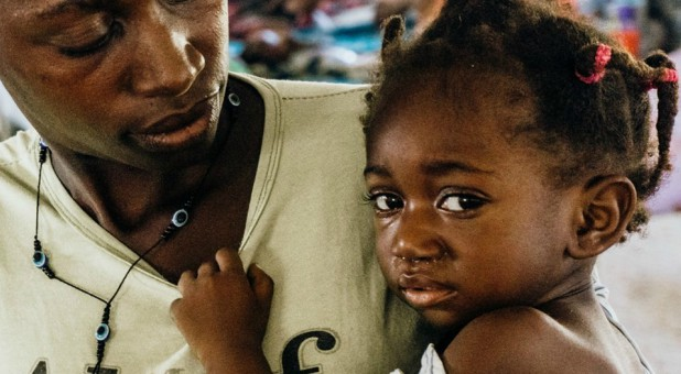 Saving Moses helps children like Vanilsa, who is malnourished.