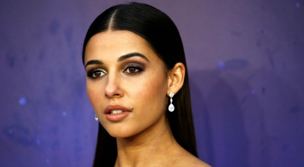 "Cast member Naomi Scott attends the premiere of Disney's live-action ""Aladdin."""
