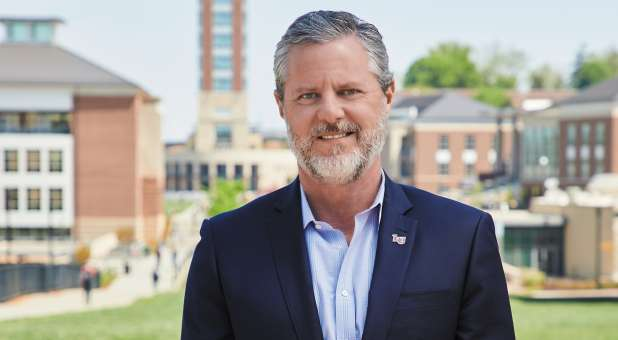 Liberty University President Jerry Falwell
