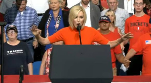 Paula White Cain Prophesies Trump's Horn of Power Will Be Exalted According to Psalm 89