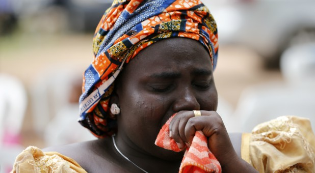 Rebecca Samuel, mother of Sarah Samuel, one of the Chibok schoolgirls kidnapped by Boko Haram militants
