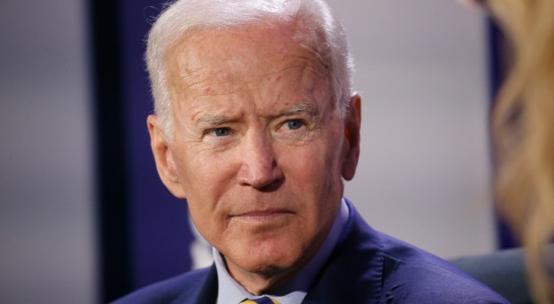 Democratic candidate for president former Vice President Joe Biden participates in We Decide: 2020 Election Membership Forum