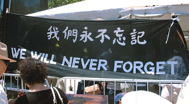 """Tiananmen Square Massacre Survivor Shares Message of Hope With America: """"Refuse All Violence, Let God Guide You in Peace"""""""