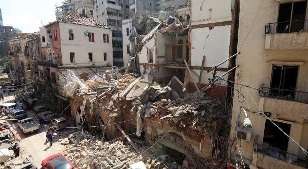 Lebanese Confront Devastation After Massive Beirut Explosion Leaves Thousands Injured, Buildings Flattened