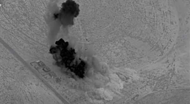 U.S. Hits Iran-Backed Militia Facilities in Iraq, Syria with Airstrikes