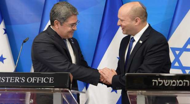 Honduras Becomes Fourth Country to Open Embassy in Jerusalem