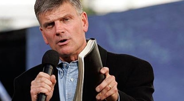 Franklin Graham Says Helms Amendment Prohibiting American Taxpayer Funding of Foreign Abortions Bill Must Be Thwarted