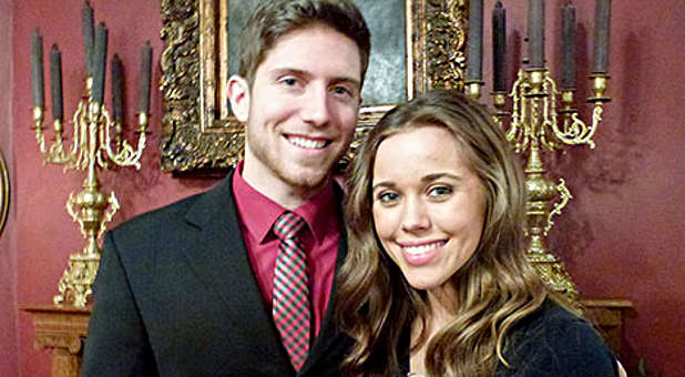 Ben Seewald and Jessa Duggar