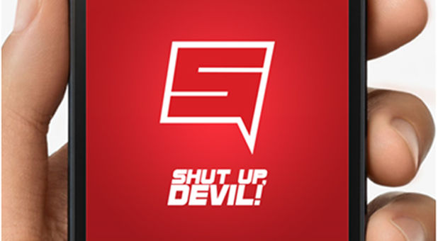 Shut Up, Devil! app