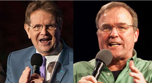 Reinhard Bonnke and Mike Bickle
