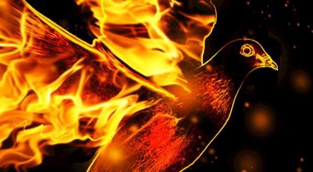 Holy Spirit fire