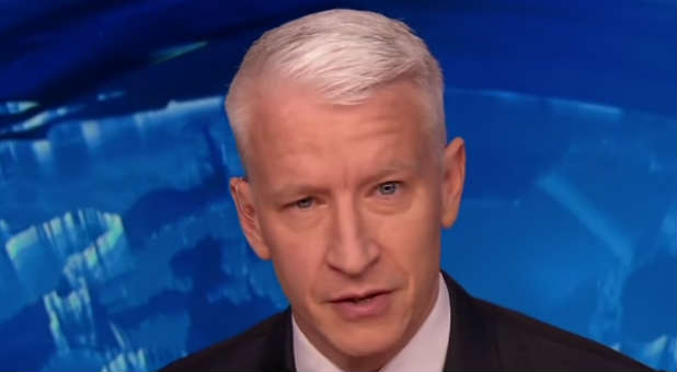 CNN anchor Anderson Cooper calls out Larry Tomczak for his 'gay agenda.'