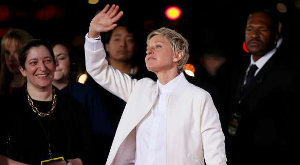 Ellen DeGeneres at the People's Choice Awards
