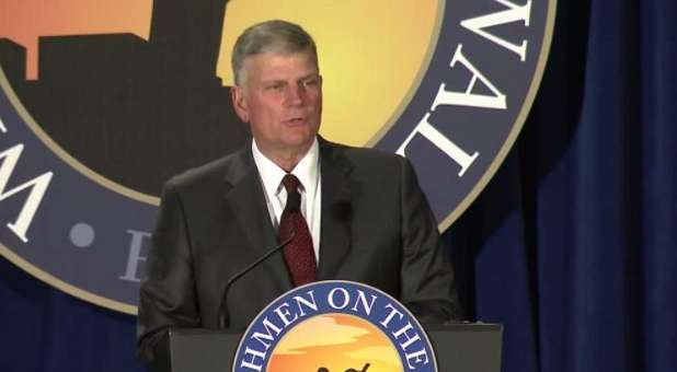 Franklin Graham has come under fire from a group of pastors for his Facebook post.
