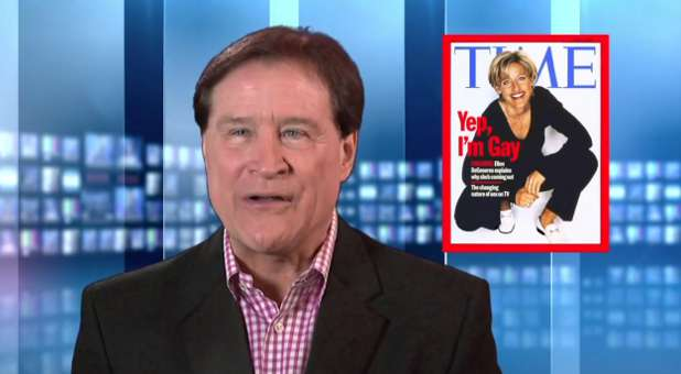 Larry Tomczak responds to Ellen DeGeneres over the 'gay agenda.'
