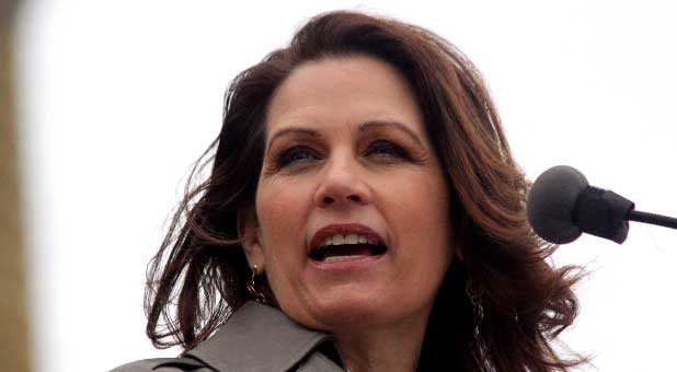 Michelle Bachmann says Christ's return is imminent.