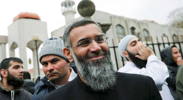Activist Anjem Choudary. Islam is now the fastest-growing religion in the world.