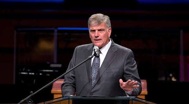 Franklin Graham needs our prayers.
