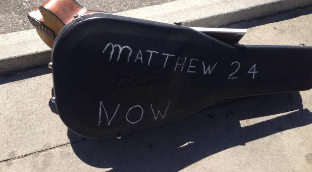 Some of the people involved in the Wal-Mart brawl were members of Christian band Matthew 24.