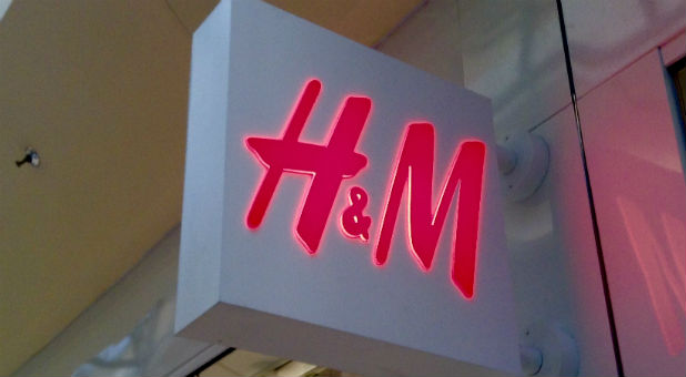 1MM is not sure of H&M clothing company's thought process behind their new television ad, but if they are attempting to offend customers and families, they have succeeded.