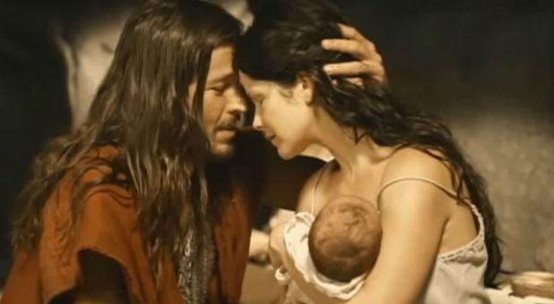 A scene from 'Ten Commandments'