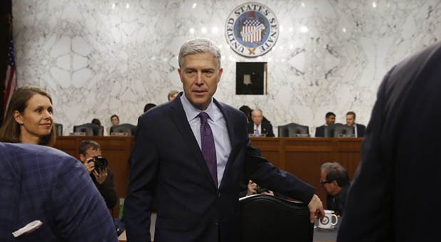 10th Circuit Court of Appeals Judge Neil Gorsuch