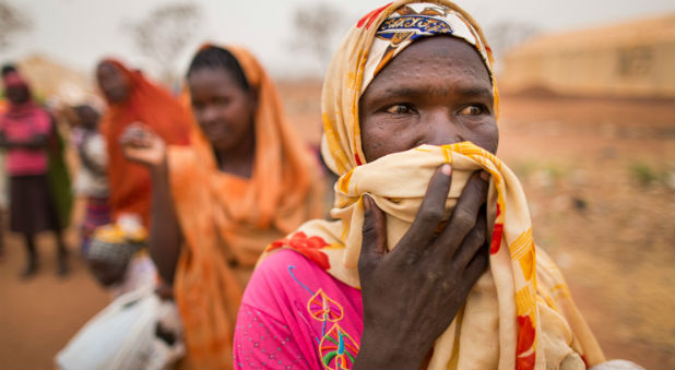 Women in South Sudan, where eight Samaritan's Purse aid workers were kidnapped.