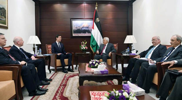 Middle East Peace Team and Palestinian Authority Leadership
