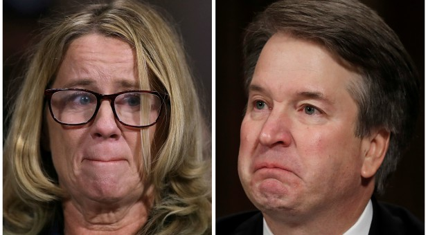 Professor Christine Blasey Ford and U.S. Supreme Court nominee Brett Kavanaugh